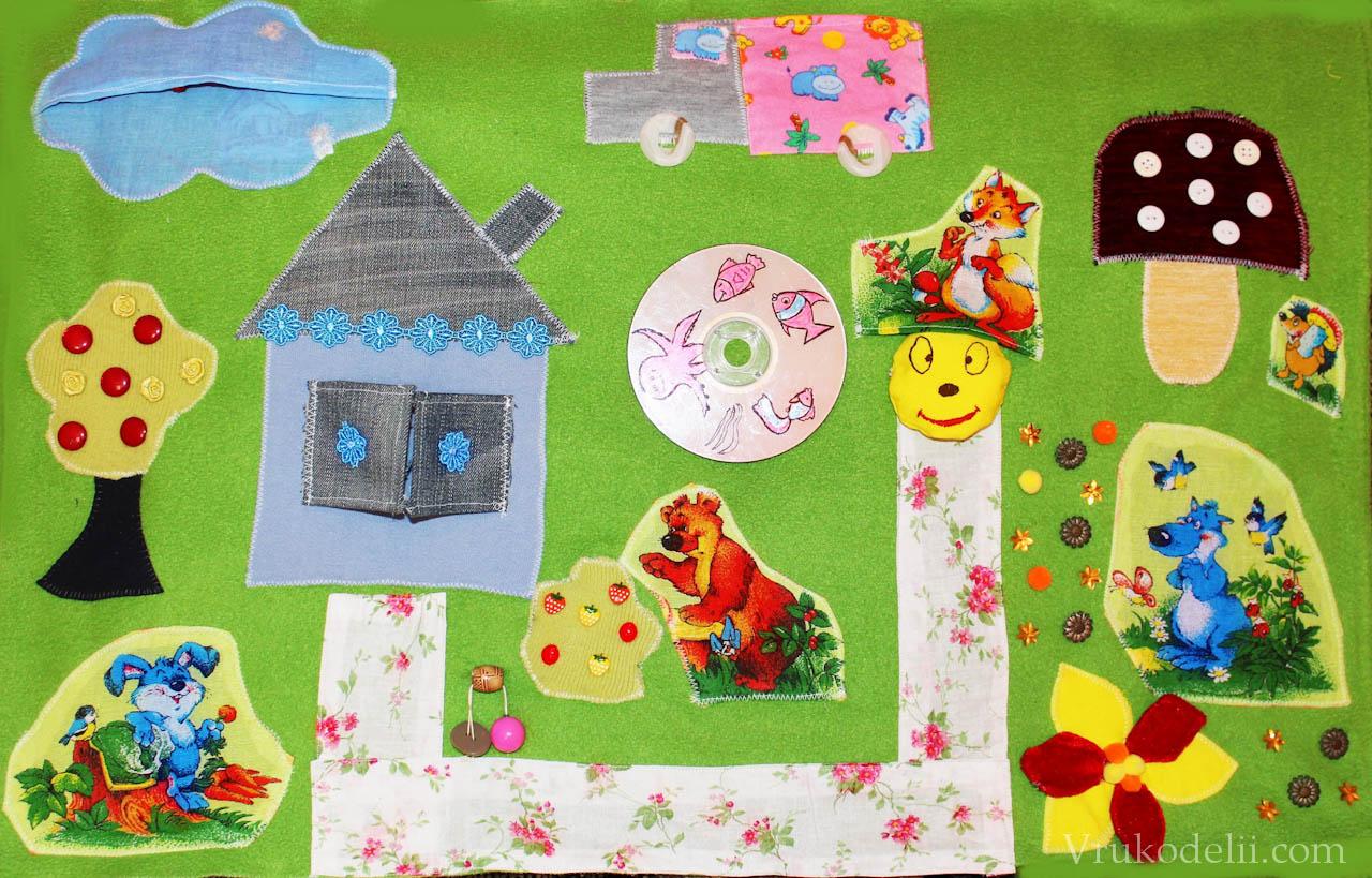 Детский развивающий коврик для детей своими руками фото 439