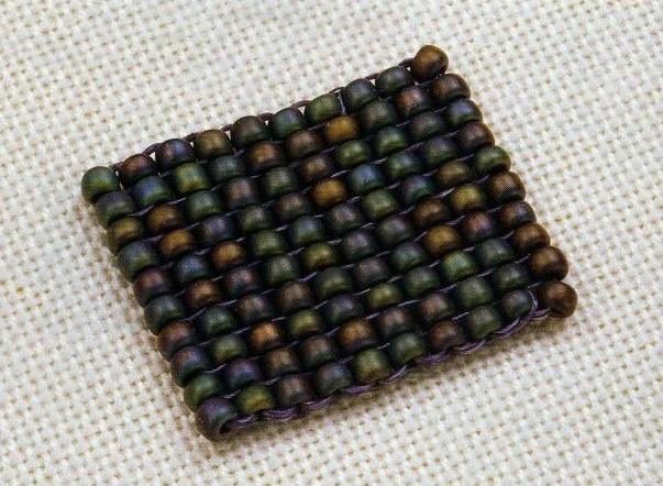 Схема плетения-полотно
