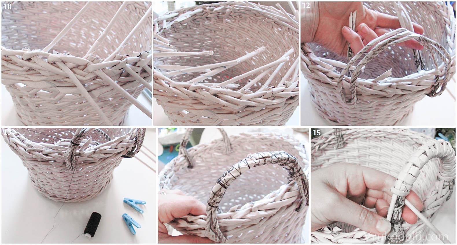 Плетение из газетных трубочек своими руками 644