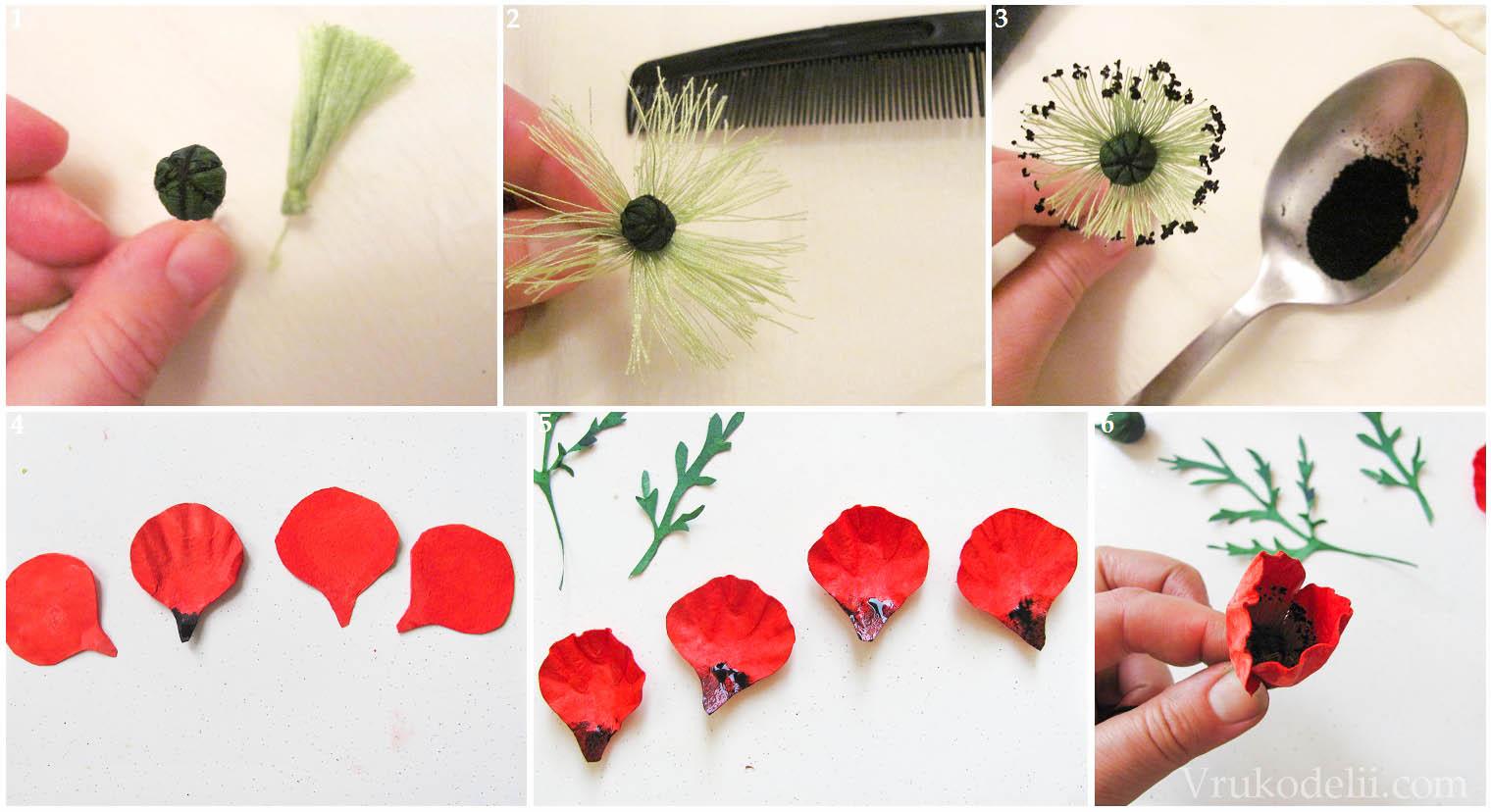 Цветы из утеплителя своими руками 91