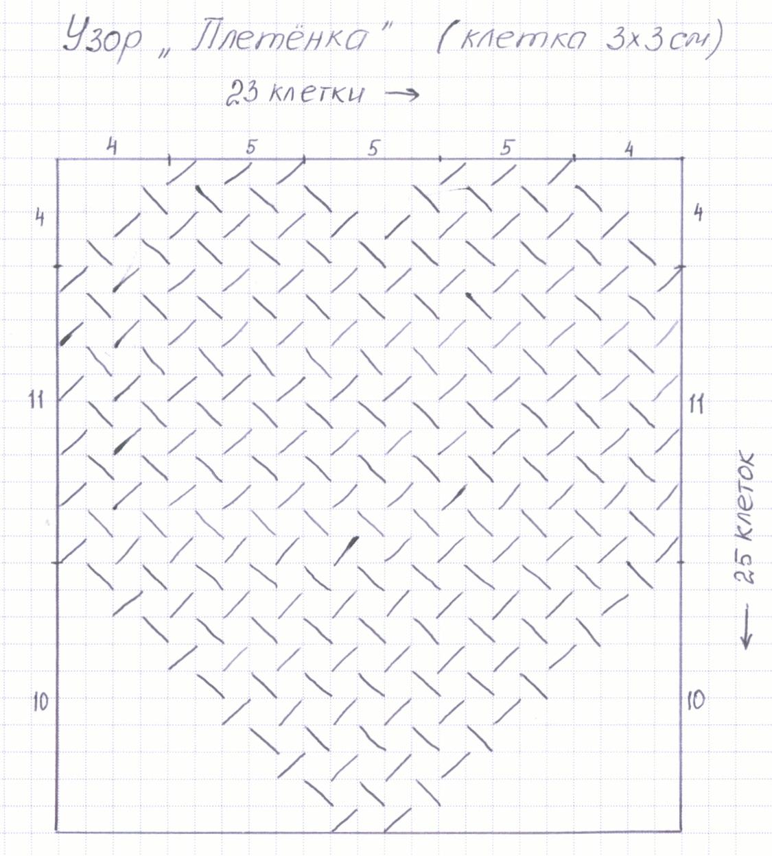 схема шитья подушки сердце
