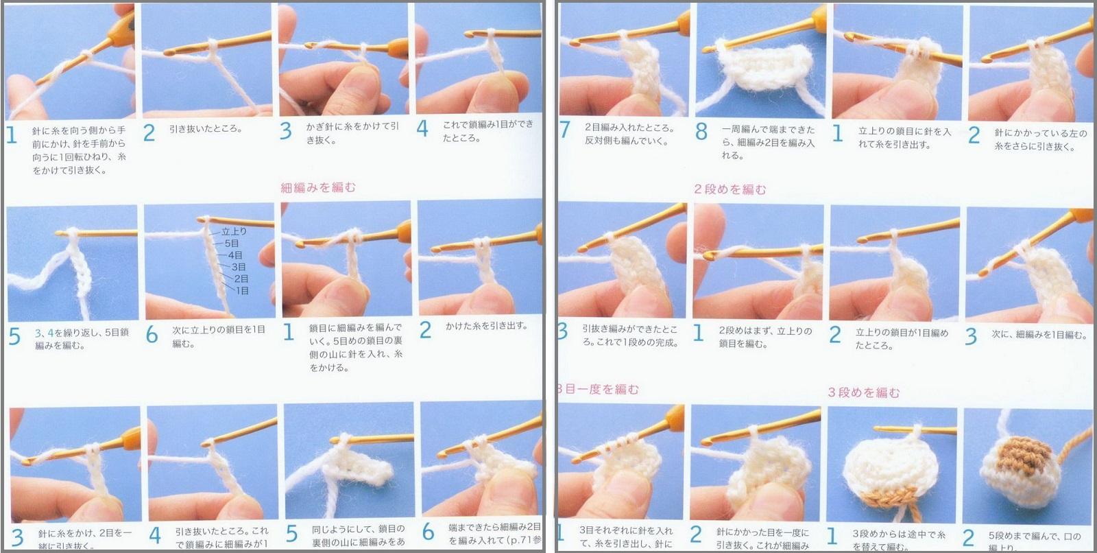 Вязаные спицами игрушки для начинающих, фото, инструкция 35