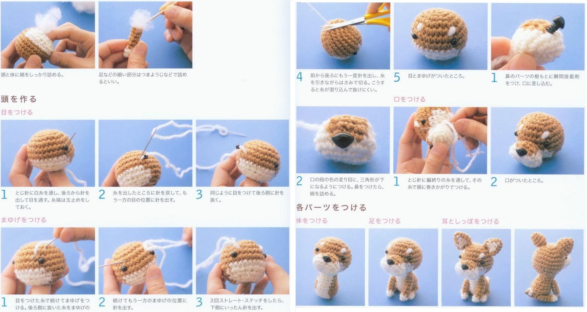 Вязаные игрушки крючком со схемами для начинающих