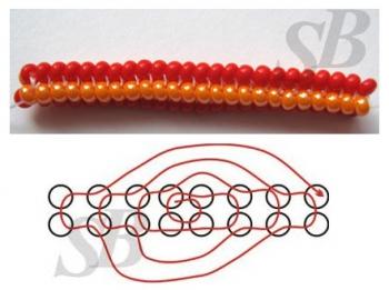 Жгут схема плетения узора