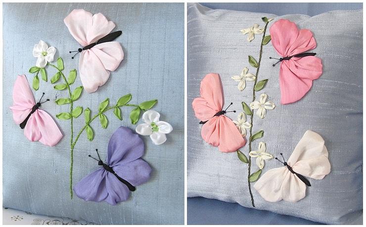Бабочка из ткани своими руками простые
