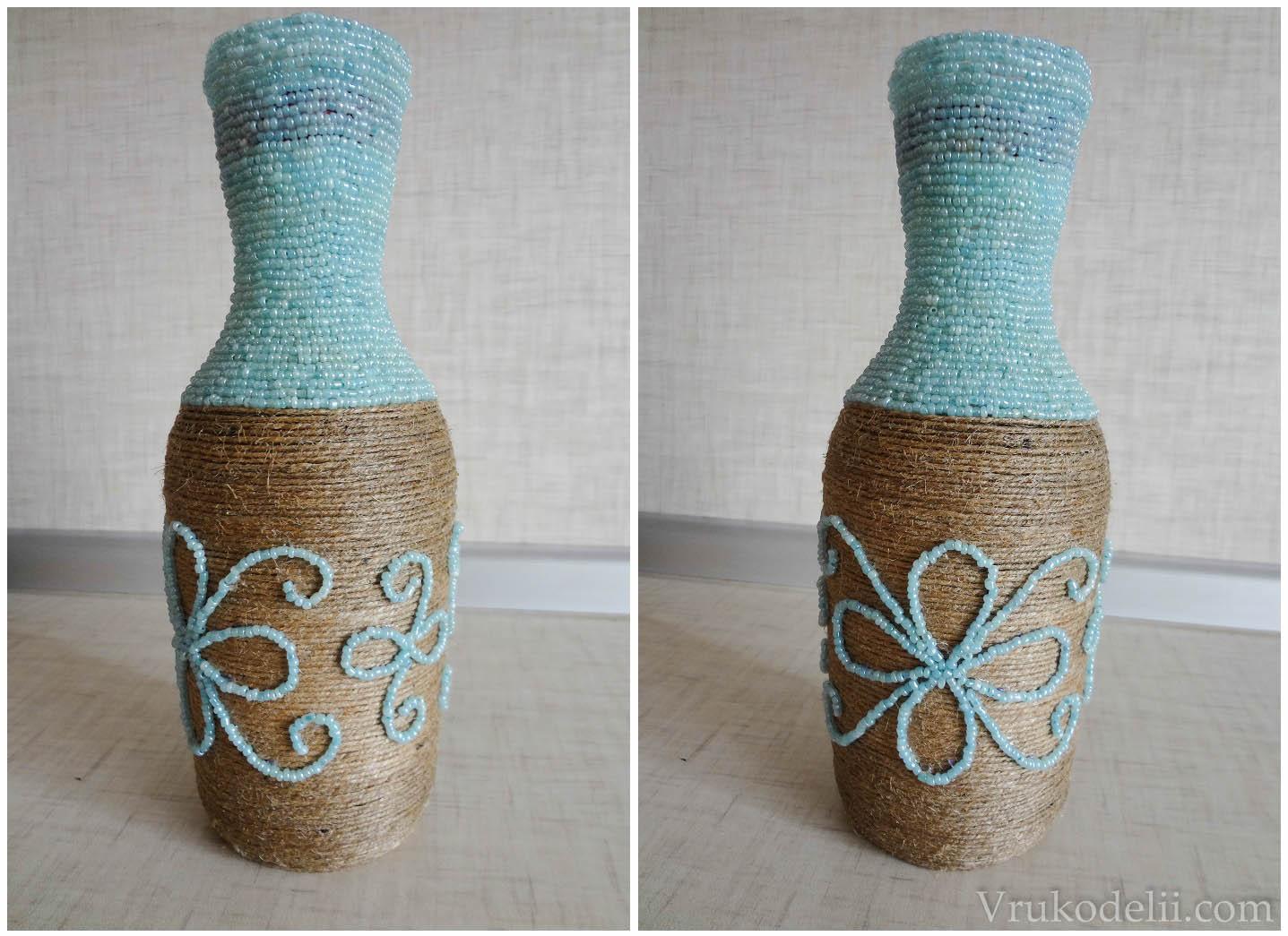 Красивые бутылки своими руками фото фото 763