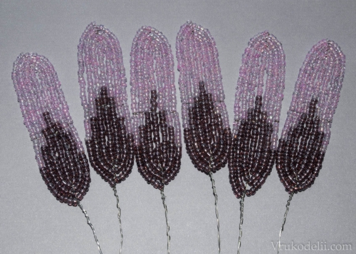 как сплести лилию