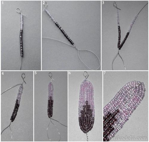 мастер-класс плетения лилии