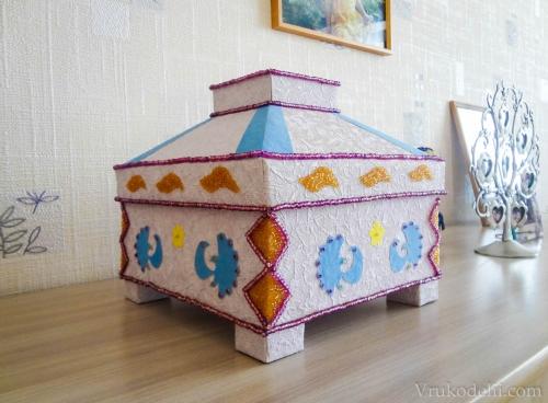Коробочка для подарков на свадьбе фото