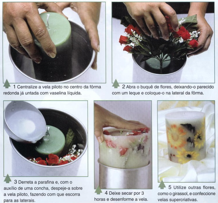 Как сделать свечу.в домашних условиях