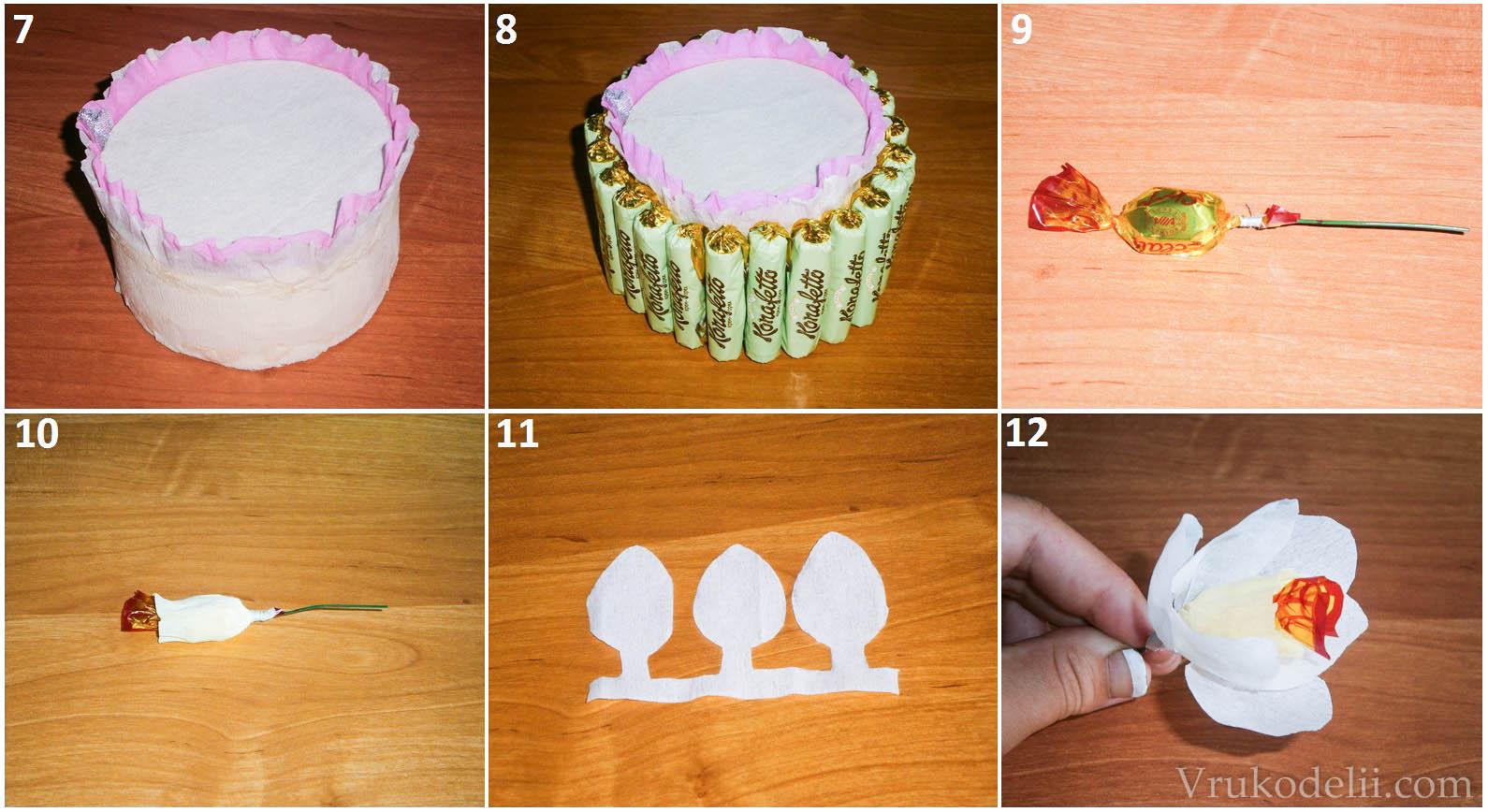 Лёгкие тортики своими руками