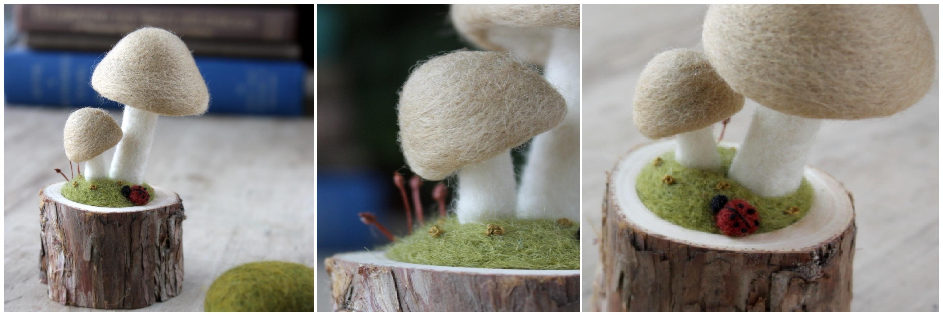 Выкройка грибов. Как сшить игрушку гриб своими руками / Мастер 84