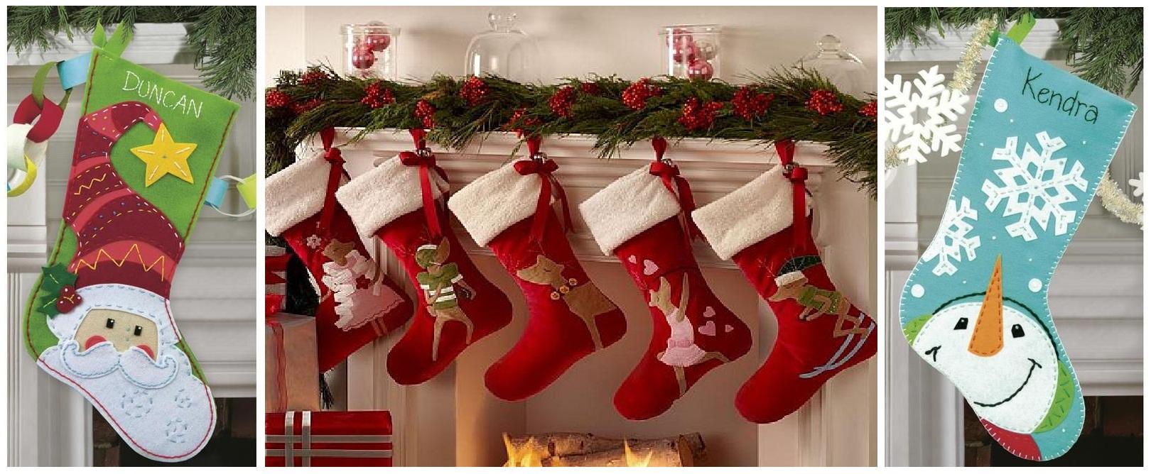 Как сделать рождественский сапожок своими руками