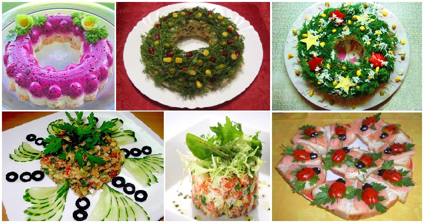 этой статье салаты в новогоднему столу Томат Салат Зеленные