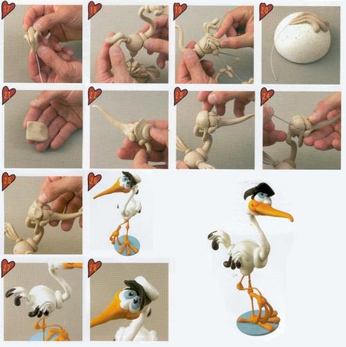 Как сделать фигурку глины