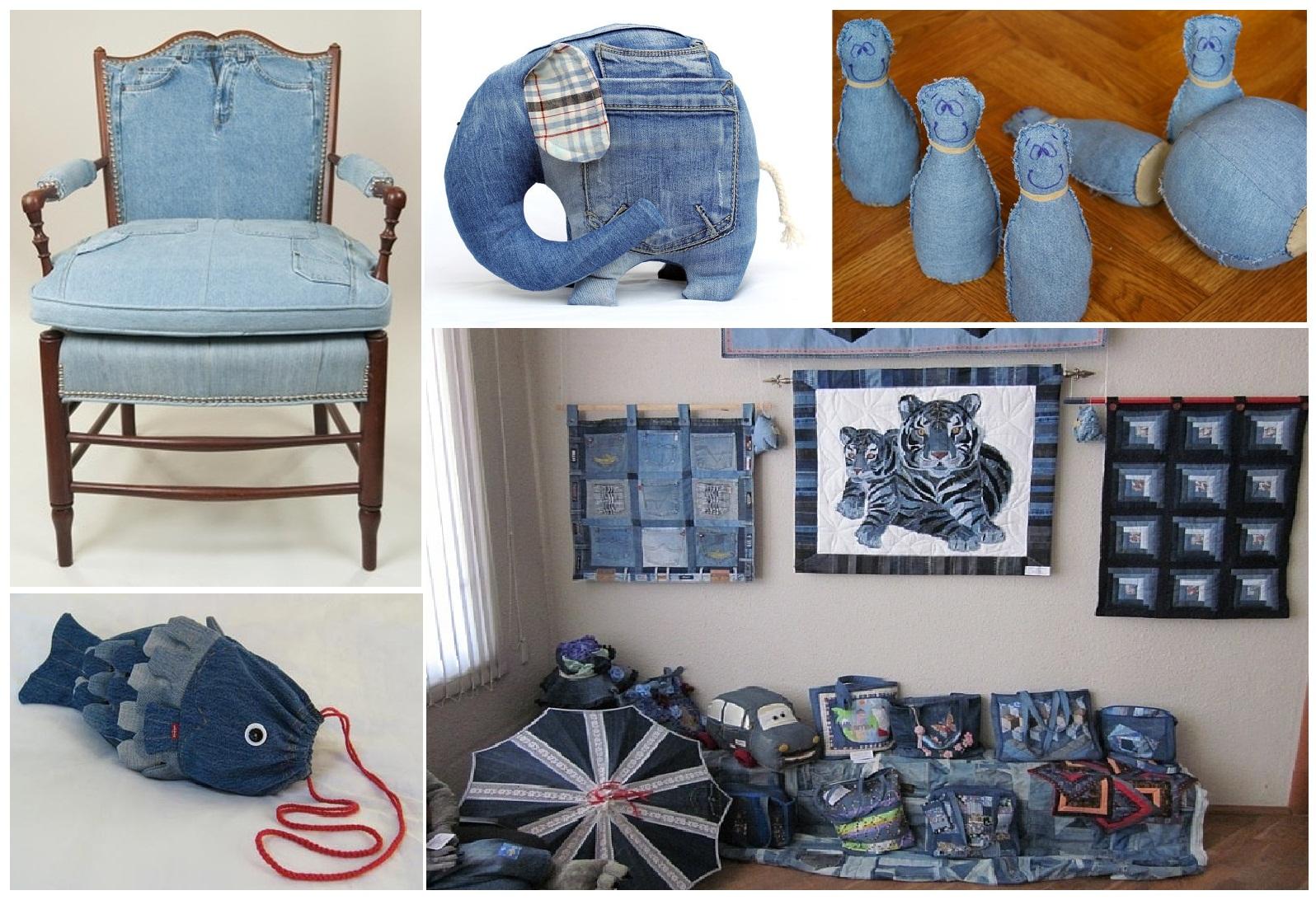 Идеи из старых джинсов своими руками фото и выкройки