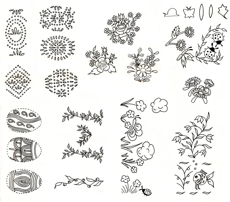 Эскизы рисованные для украшений
