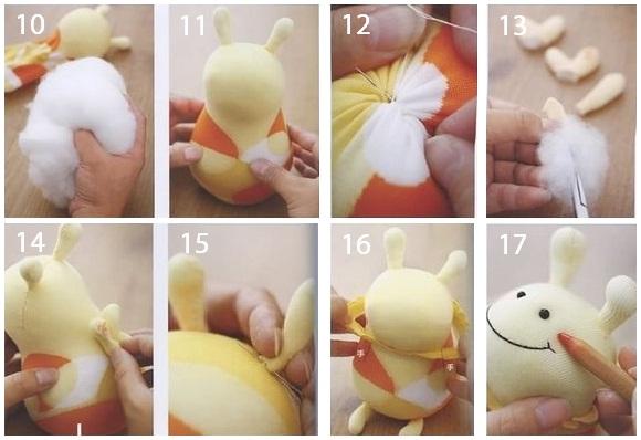 Пчела игрушка своими рука