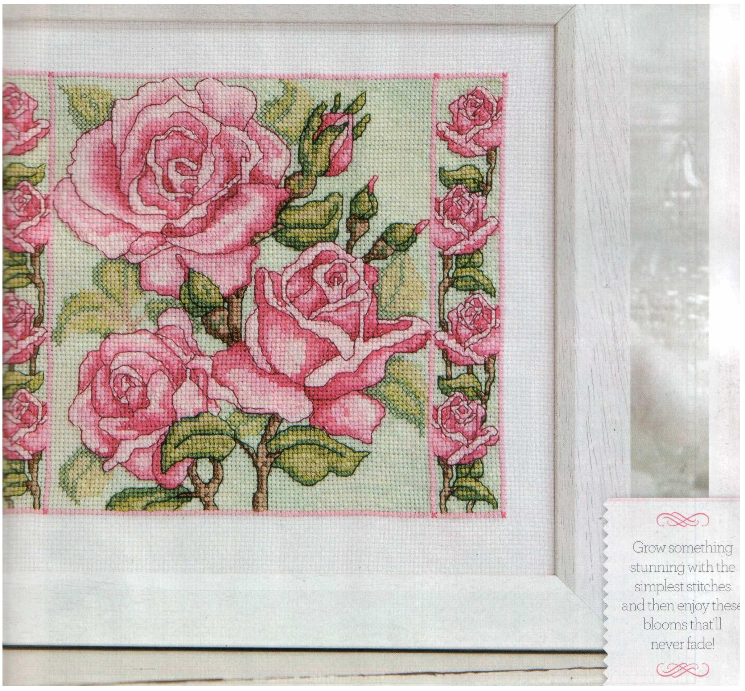 Схемы Для Вышивки Крестом Викторианские Розы