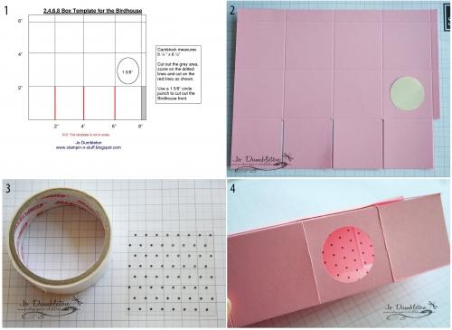 скворечник из бумаги к пасхе, упаковка для крашеного яица