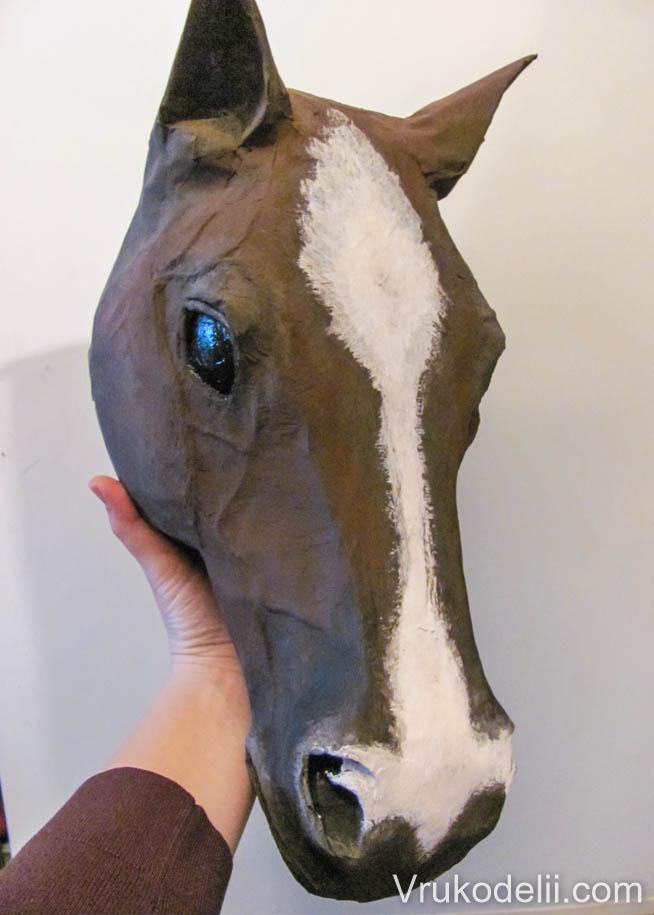 Голова лошади своими руками фото 428