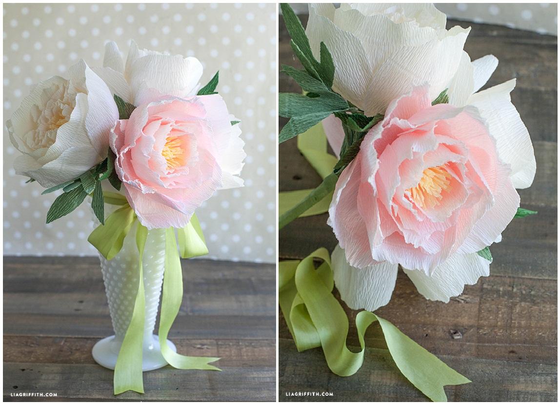 Ростовые цветы из бумаги своими руками