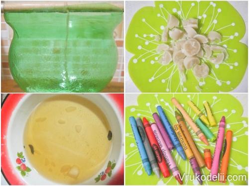 Как покрасить форму в домашних условиях