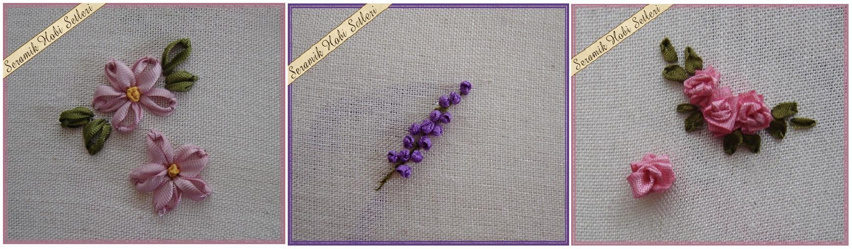 Уроки вышивки лентами цветов
