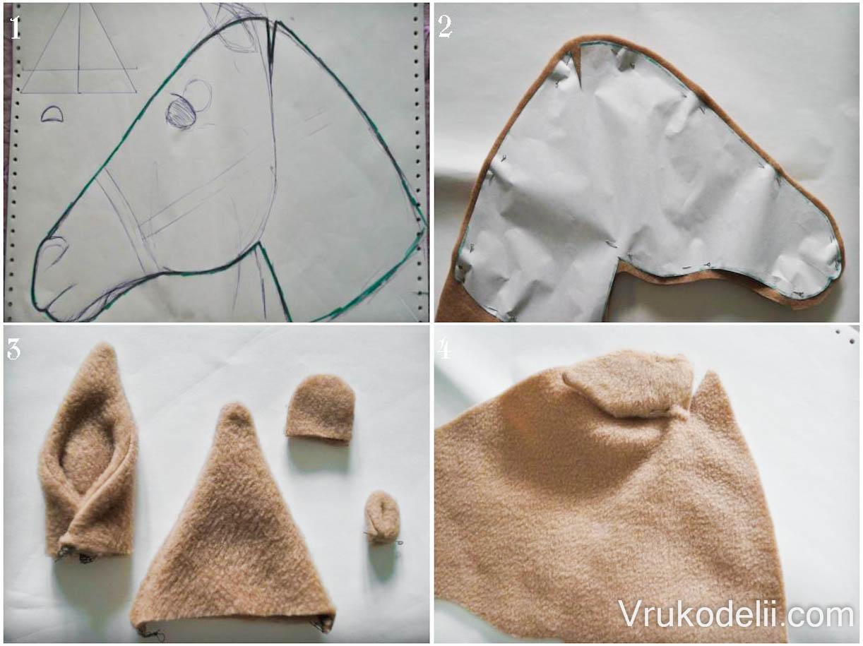 Как сделать лошадку из ткани фото 498
