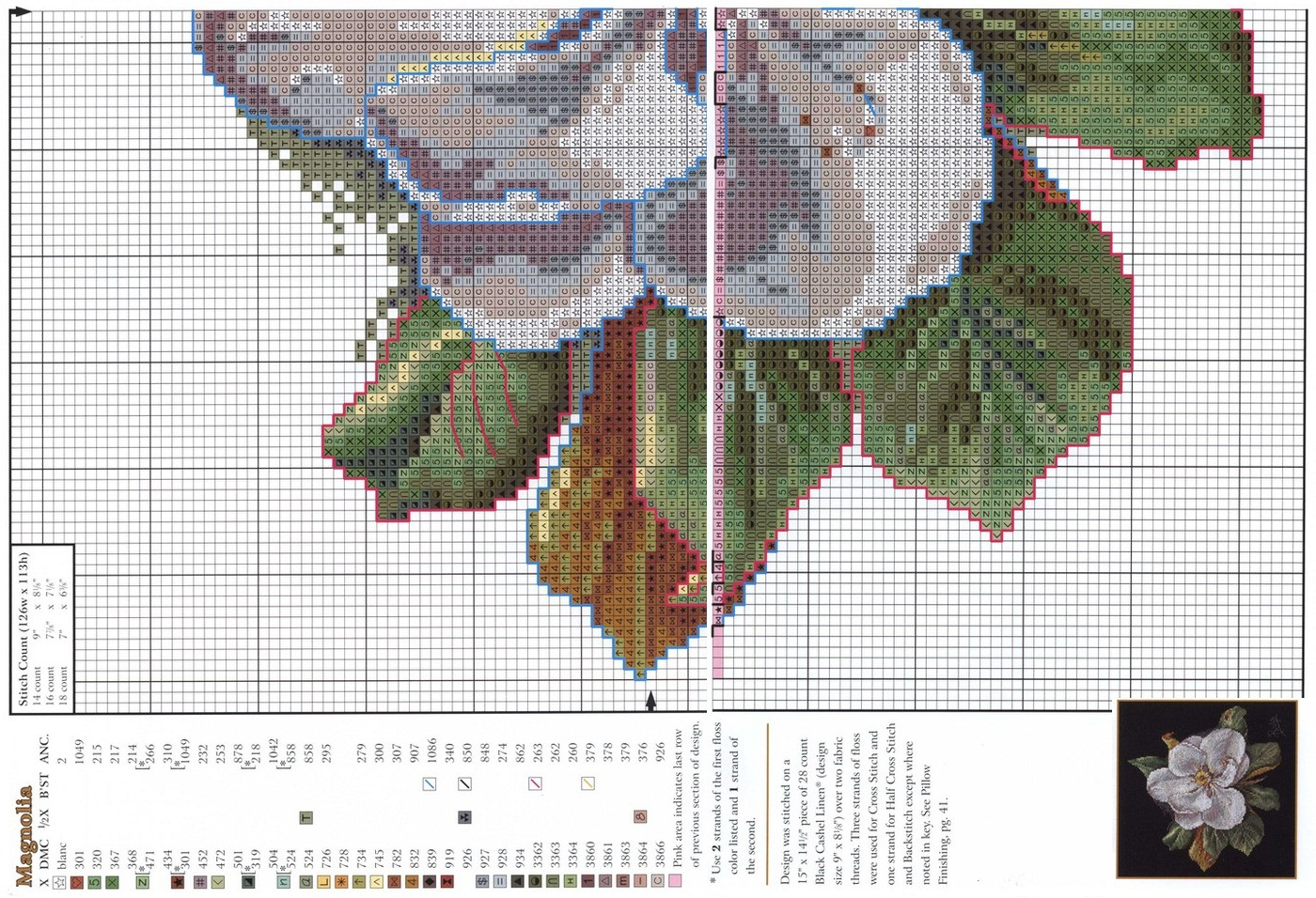 Схемы вышивки на белом фоне