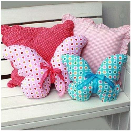 Шитье декоративных подушек своими руками