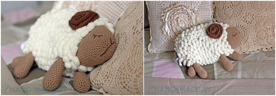 Вяжем декоративные подушки