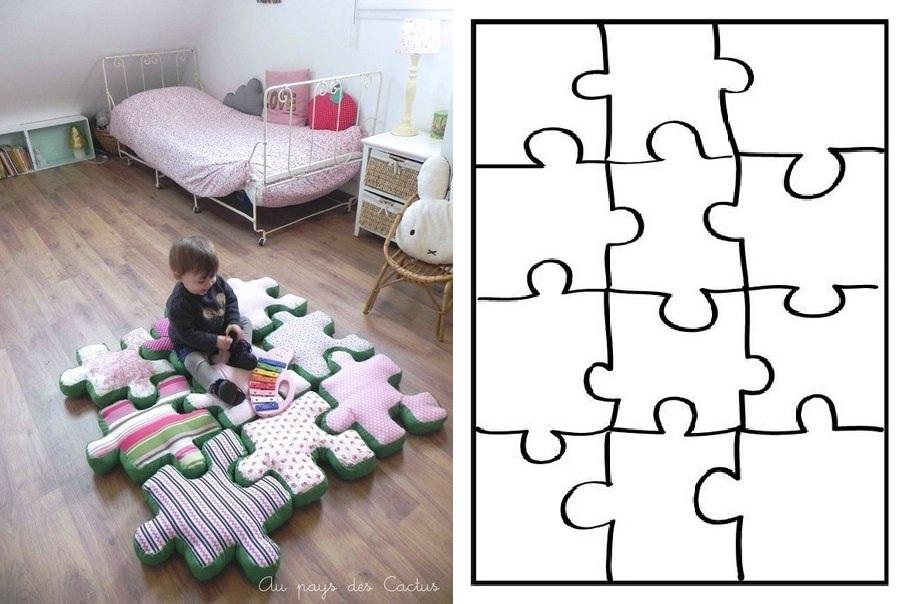 Теплый пол для детей, развивающие коврики-пазлы