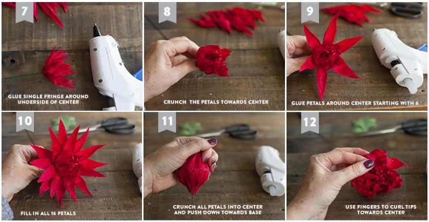 Как своими руками сделать букет цветов