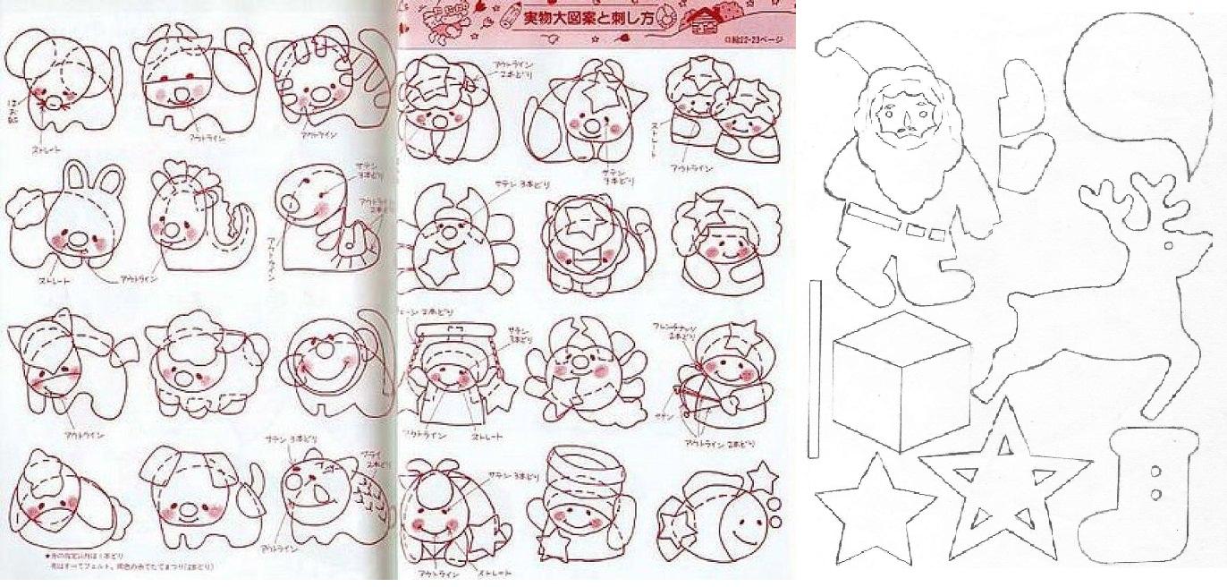 Игрушки для малышей из ткани выкройки