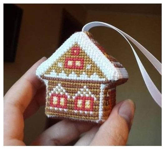 Мягкие игрушки с вышивкой своими руками