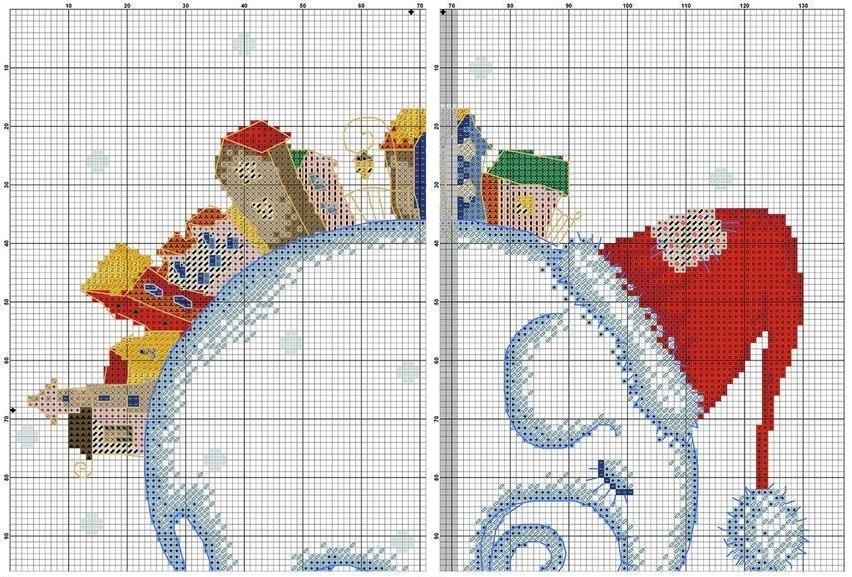 Схема бесплатно вышивки слонов
