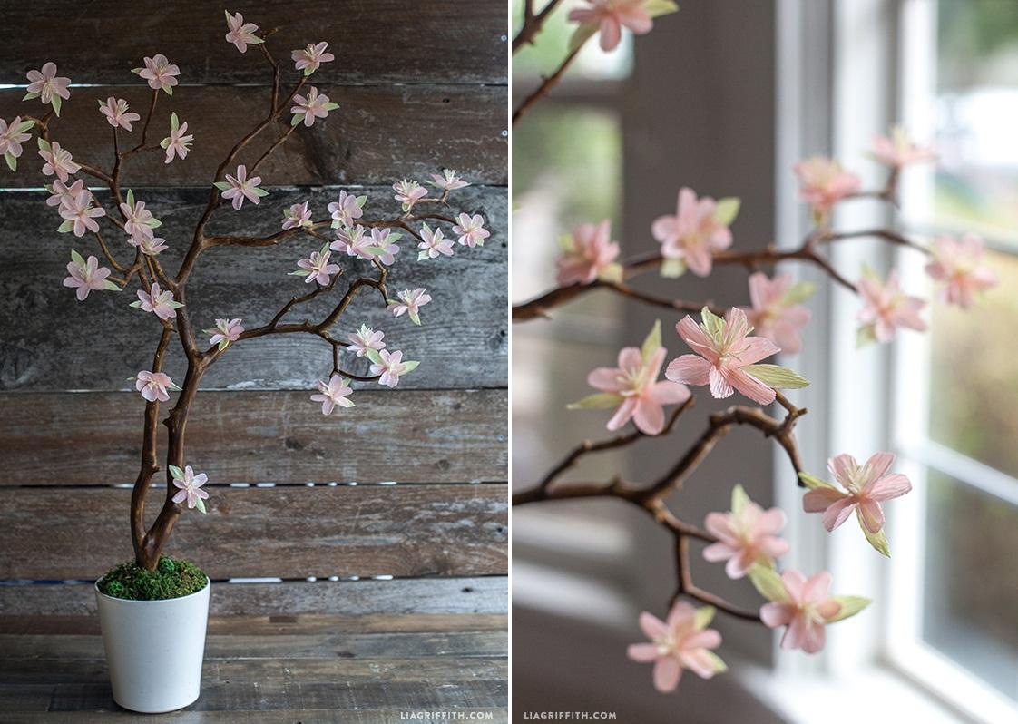 Деревья из цветов своими руками фото фото 393