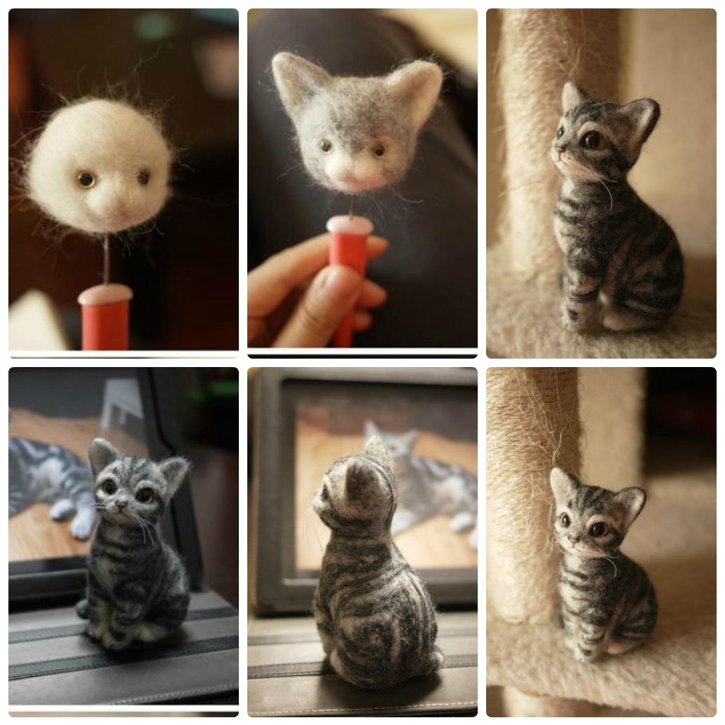 Как сделать красивое кошки